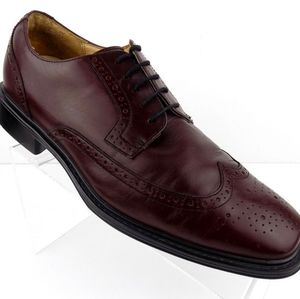 Dressports by Rockport Burgandy Lace Wingtip Shoes